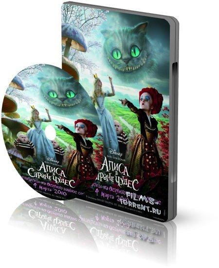 Алиса в стране чудес (BDRip, 2010)