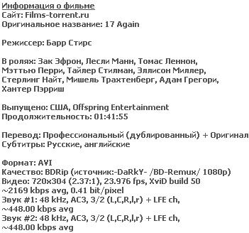 Папе снова 17 (BDRip, 2009)