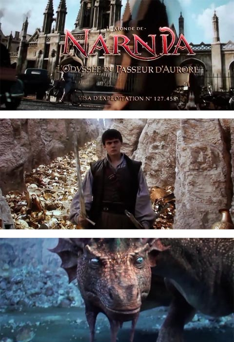 Хроники Нарнии: Покоритель Зари (DVDRip, 2010)