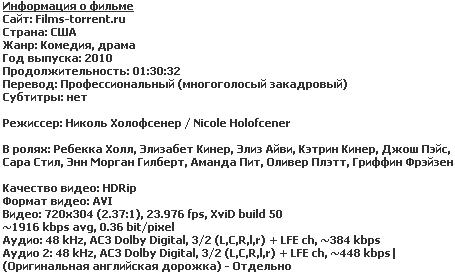 Ненужные вещи (HDRip, 2010)
