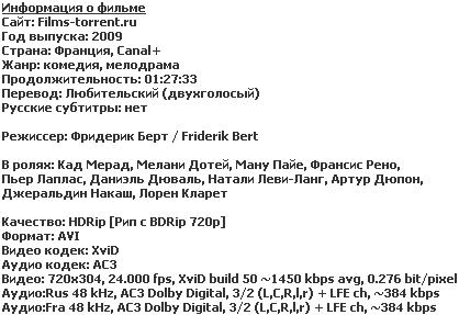 Выходные! (HDRip, 2009)