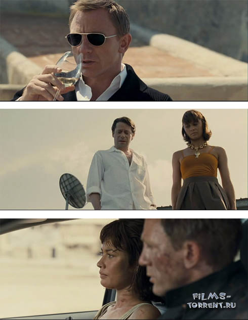 Джеймс Бонд 007: Квант милосердия (2008)