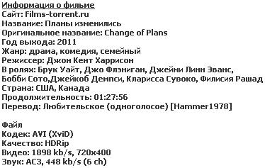Плані изменились (2011)
