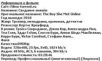 Свидание онлайн (2010)