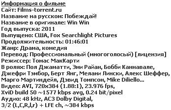 Побеждай! (2011)