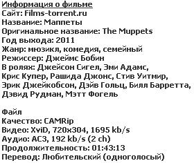 Маппеты (2011)