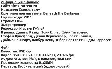 Сквозь тьму (2011)