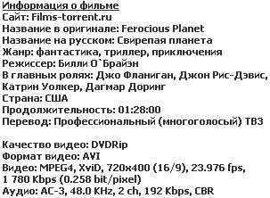 Свирепая планета (2011)