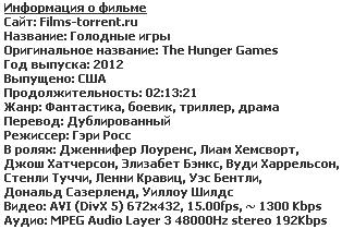 Голодные игры (2012)