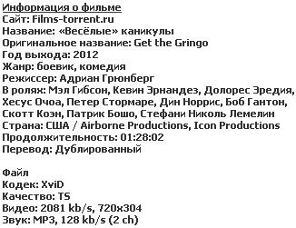 «Весёлые» каникулы (2012)