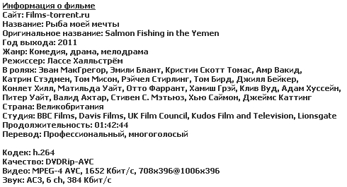 Рыба моей мечты (2011)