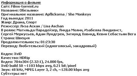 Обезьянки (2011)