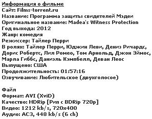 Программа защиты свидетелей Мэдеи