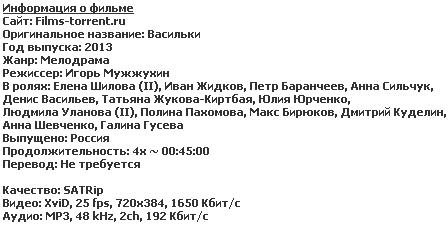 Васильки [01-04 из 04]