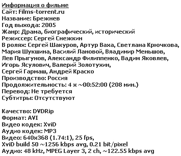 Брежнев [01-04 из 04]