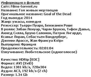 Гол живых мертвецов