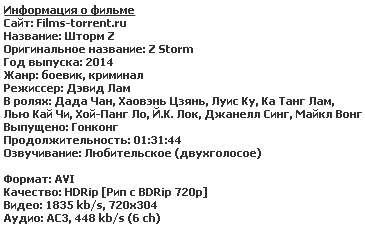 Шторм Z (2014)