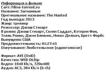 Загнанные (2013)