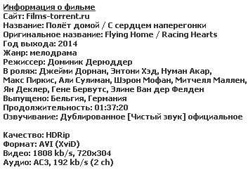 Полёт домой (2014)