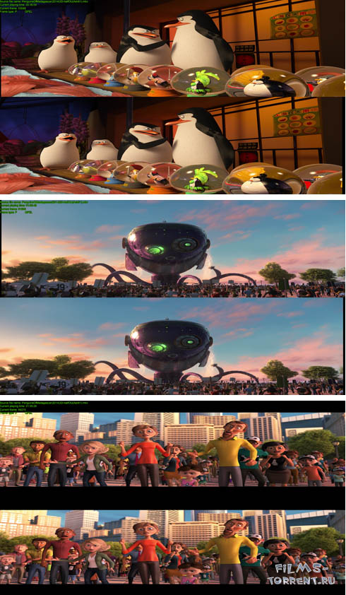 Пингвины Мадагаскара 3D (2014)