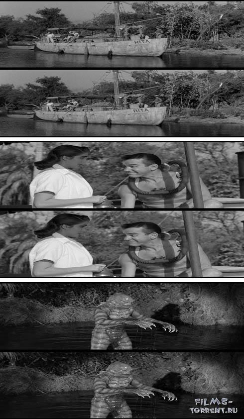 Создание из Чёрной лагуны 3Д (1954)