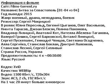 Битва за Севастополь (2015)