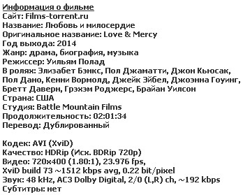 Любовь и милосердие (2014)