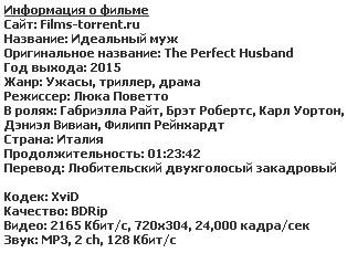Идеальный муж (2015)