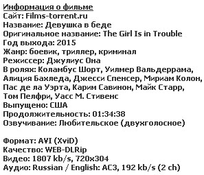 Девушка в беде (2015)