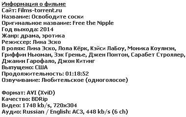 Освободите соски (2014)