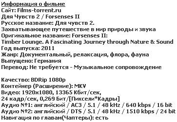 Для Чувств 2 (2011)