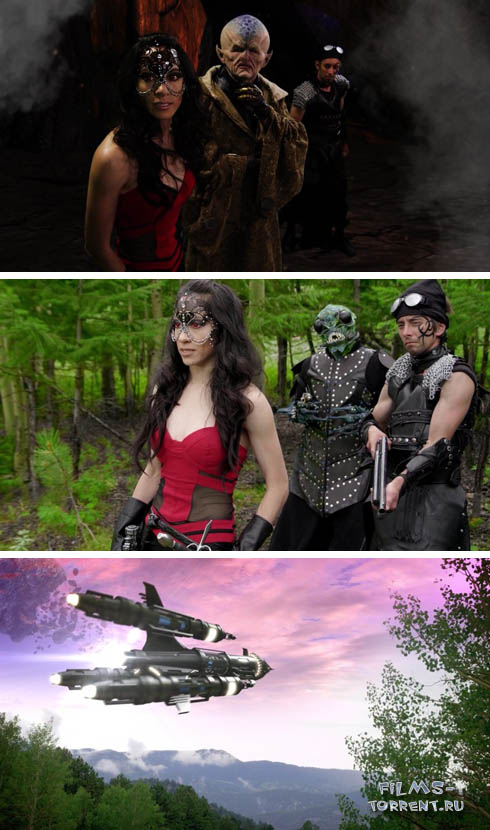 Космические пираты: приключения Сайбер Рэйна (2016)