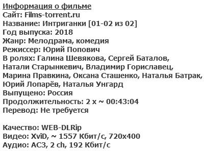 Интриганки (2018)