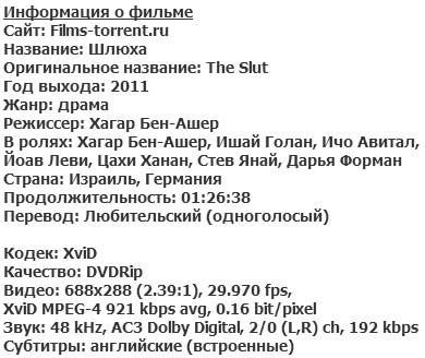 Шлюха (2011)
