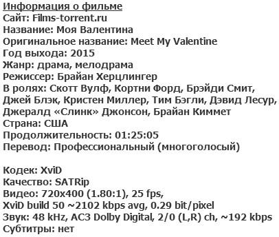 Моя Валентина (2015)