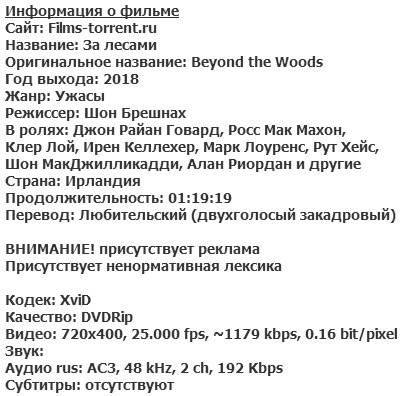 За лесами (2018)
