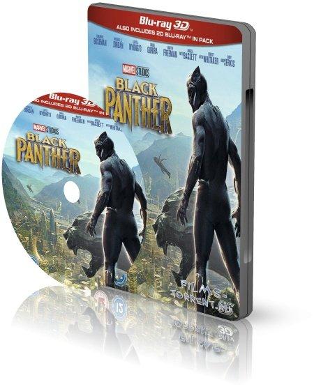 Чёрная Пантера 3D (2018)