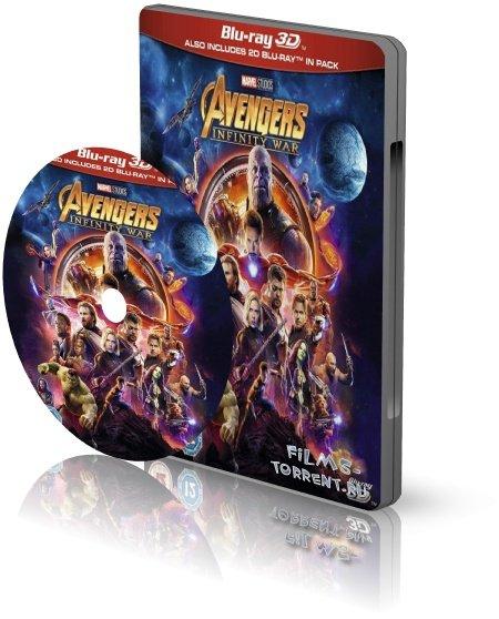 Мстители: Война бесконечности 3D (2018)