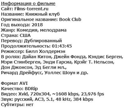 Книжный клуб (2018)