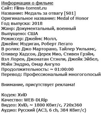 Медаль за отвагу (2018)