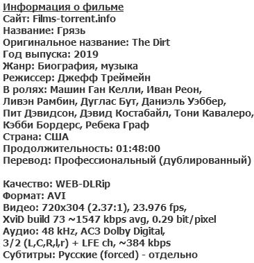 Грязь (2019)