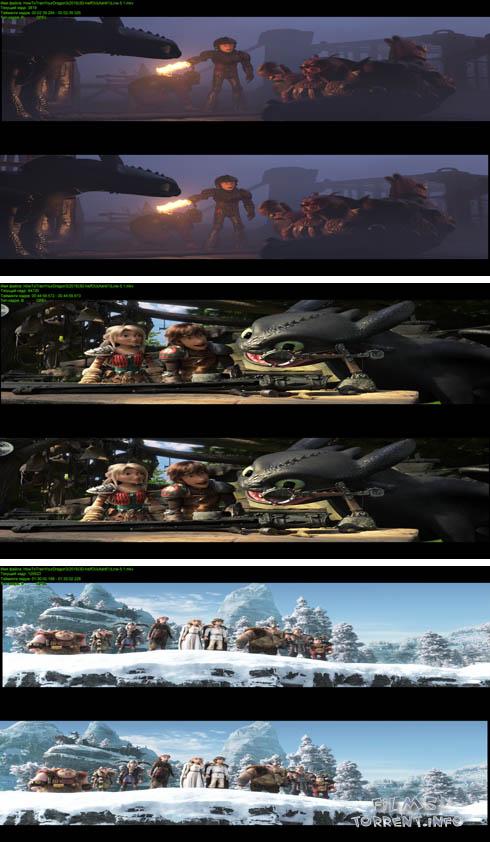 Как приручить дракона 3 3D (2019)