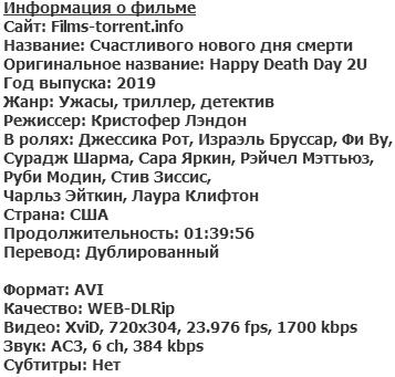 Счастливого нового дня смерти (2019)