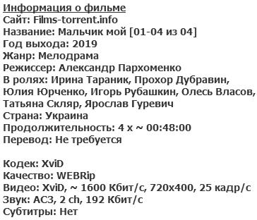 Мальчик мой (2019)