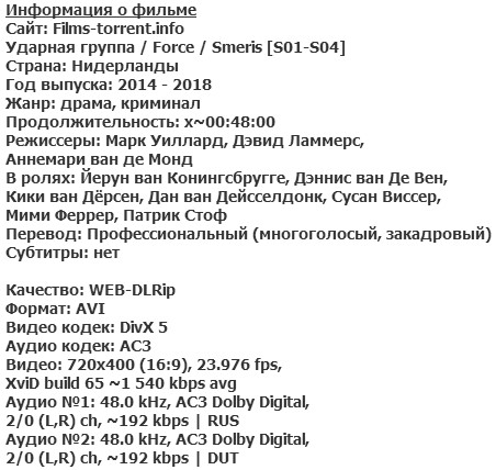 Ударная группа (2014-2018)