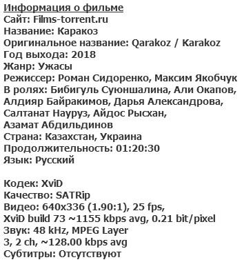 Каракоз (2018)