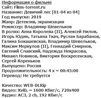 Девичий лес (2019)