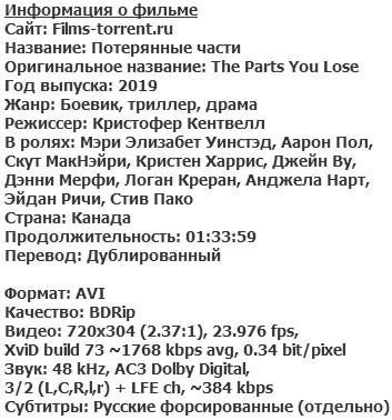 Потерянные части (2019)