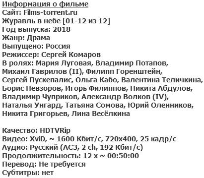 Журавль в небе (2018)