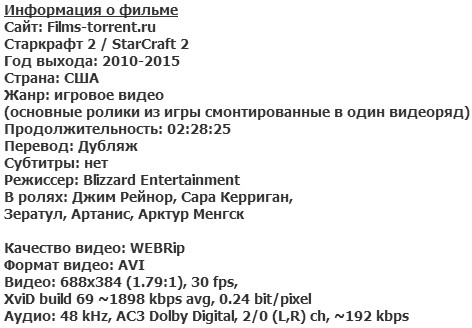 Старкрафт 2 (2010-2015)